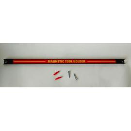 Magnetická lišta na nářadí 60 cm nosnost 13 kg