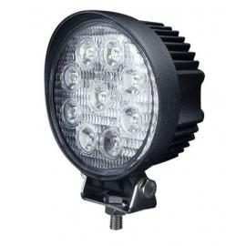 Pracovní LED světlo 27W kulaté