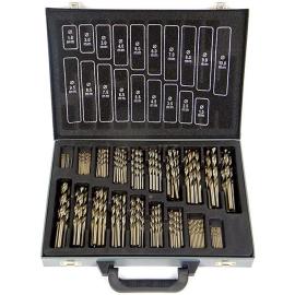 Vrtáky na kovový  170 kusů 1-10 mm