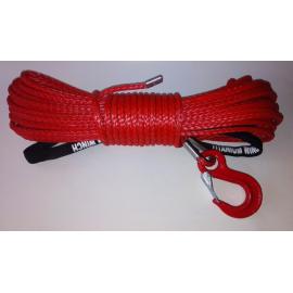 Syntetické lano 8 mm x 28 m s hákem